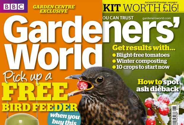 The January edition of Gardeners World