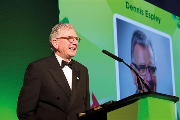 Lifetime Achievement Award - Winner: Dennis Espley
