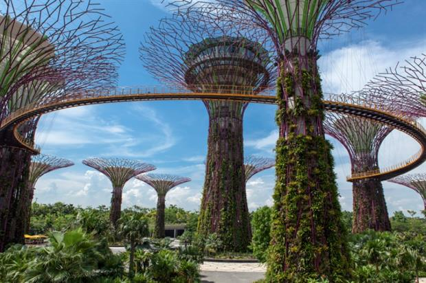 Grant Associates' Gardens by the Bay, Singapore.