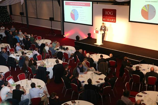 Geoff Webb speaks at the 2014 IoG Conference