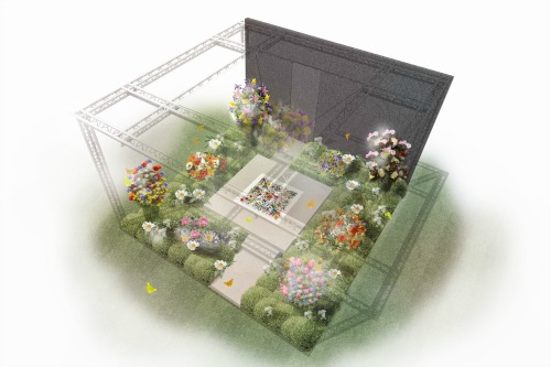 Sarah Eberle's design for the Gucci Garden