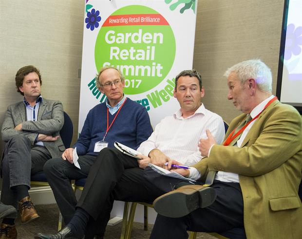 GR Summit Plant Supply Panel: Alan Roger, Nigel Wait, Steve Guy and Ian Riggs