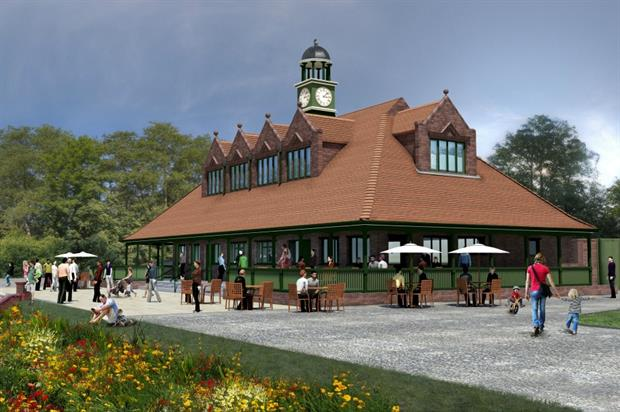 Artists impression of how the new pavillion will look. Image: Stoke-on-Trent City Council