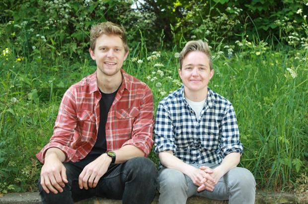 Landscape comes first for Harris (right) and Bugg. Image: Harris Bugg Studios