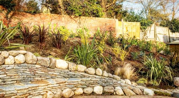 The new sensory garden takes shape. Image: Johnsons of Whixley