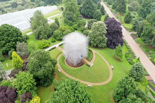 Nice The Hive At Kew Gardens. Credit: Skyvantage