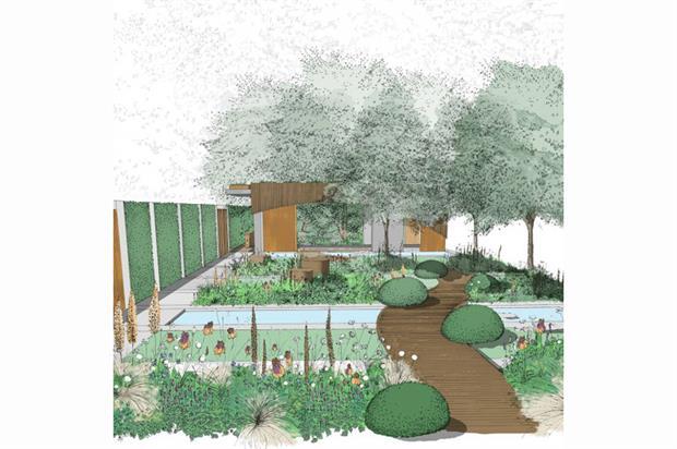 Good Adam Frostu0027s Design For The Homebase Urban Retreat Garden