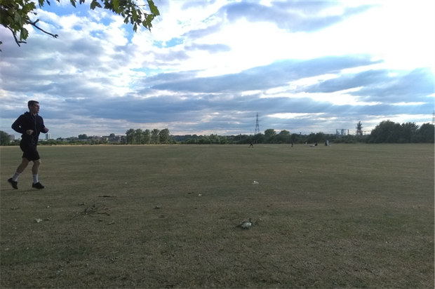 Low Hall Sports Ground in Walthamstow, east London. Image: HW