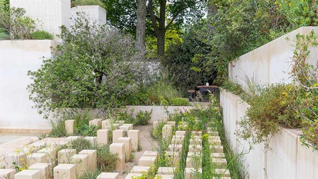 James Basson's Chelsea 2016 M&G winning garden