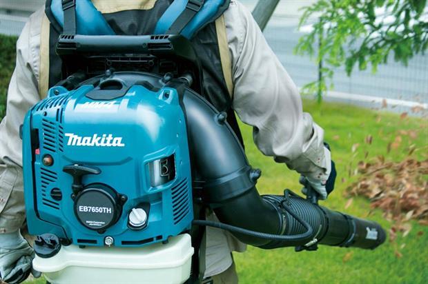 The Makita EB7650TH in action - image: Makita UK