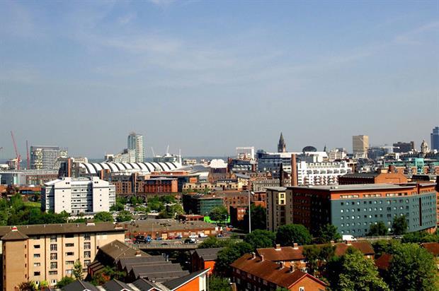 Manchester skyline - image: Biffa
