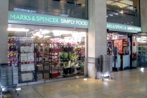 An M&S Simply Food store - image: wing1990hk