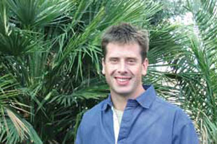 Richard McKenna, nursery director at Wyevale East Nurseries, Swanley, Kent