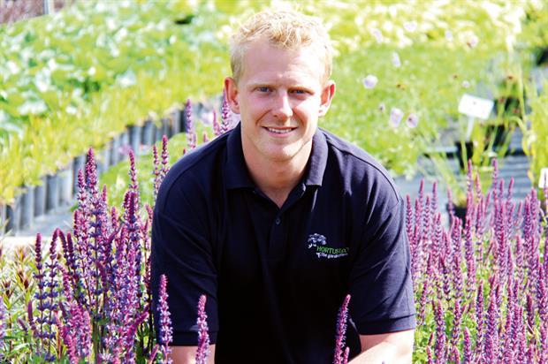 Michael Buck, show plant manager, Hortus Loci - image: Hortus Loci