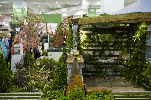 The completed Best in Show garden