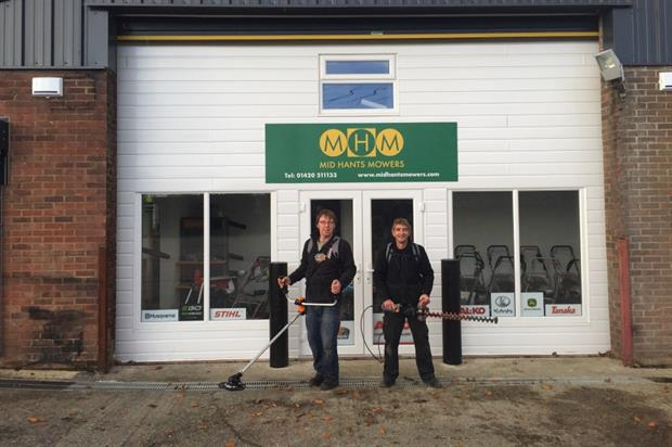 id Hants Mowers have been confirmed at the latest Pellenc dealer. Image: Supplied