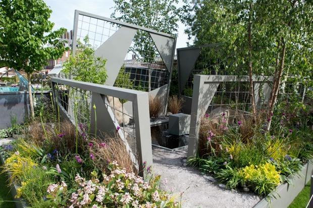 Ian Price's design for the Mind Trap Garden. Image: HW