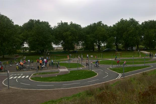 The track teaches children how to use the roads. Image: Nottingham City Council