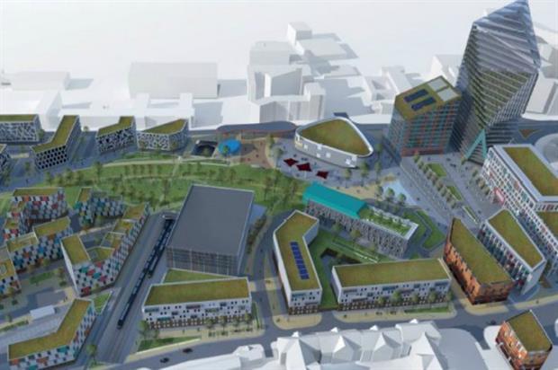 Paddington Village, one of Liverpool City Region's One Public Estate developments. Image: supplied