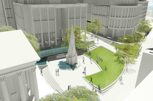 Grant Associates' Paradise Circus design