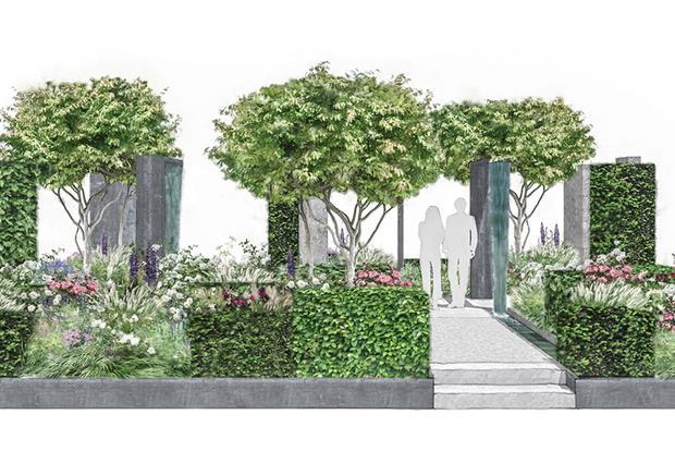 Perennial Lifeline Garden for RHS Chelsea Flower Show 2019