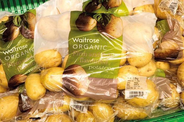 Organic produce: growers encouraged by fact that availability of organic products is improving in supermarkets - image: HW
