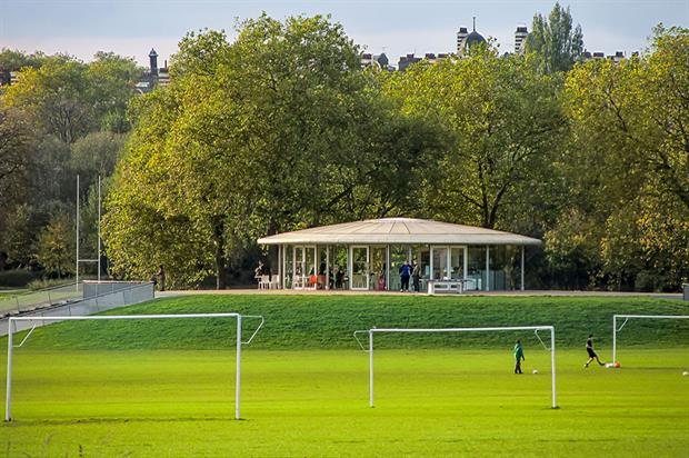 Football pitches in Regents Park, London - image: Flickr/Gary Knight (CC BY 2.0)