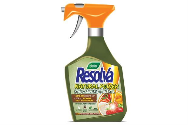 Resolva: brand aiming to reduce reliance on chemicals - image: Westland