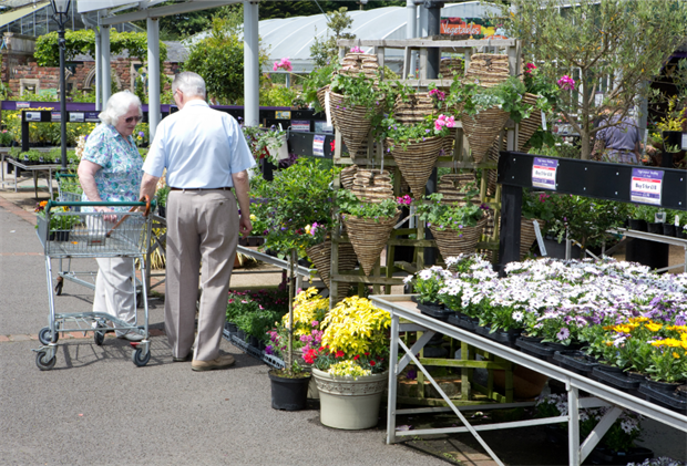 Garden centres are among those who could benefit from business rate relief. Image: HW