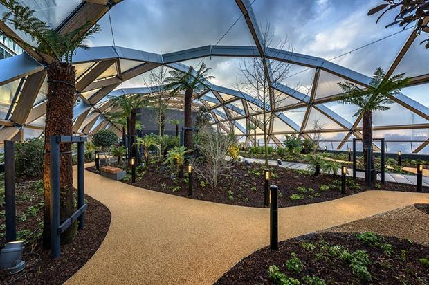 Above The New Crossrail Station At Canary Wharf It Has Created A Green  Retreat That Is Freely Accessible To The Public As Part Of A New Leisure  And Retail ...