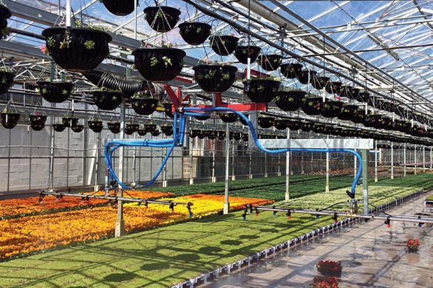 Boom irrigation: new system from Rotomation can save water as well as labour- image: Rotomation