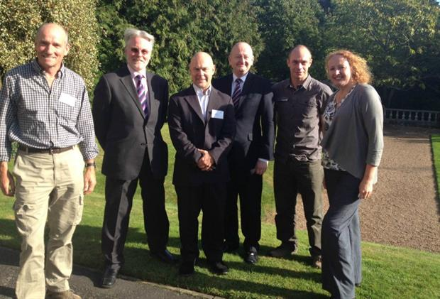Some of the speakers at yesterday's event