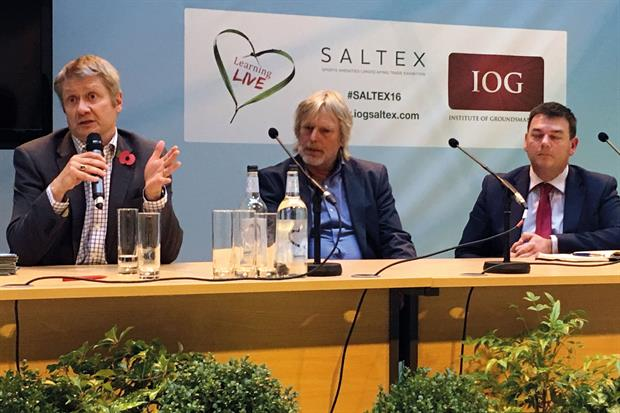 Saltex: panel sessions included Question Time-style debate on role of chemicals in the amenity sector post -Brexit  - image: HW