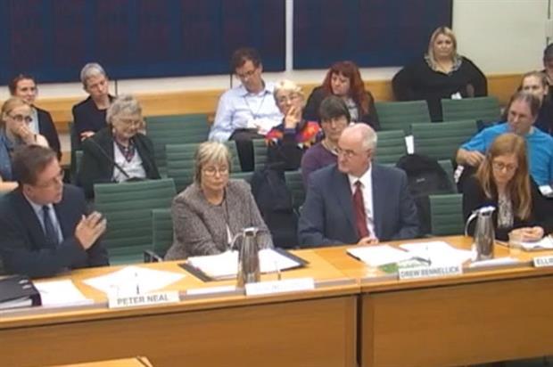 (l-r): Peter Neal; Sue Ireland (Parks Alliance); Drew Bennellick (HLF); and Ellie Robinson (National Trust)