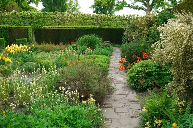 The gardens at Sissinghurst Castle are run by National Trust workers