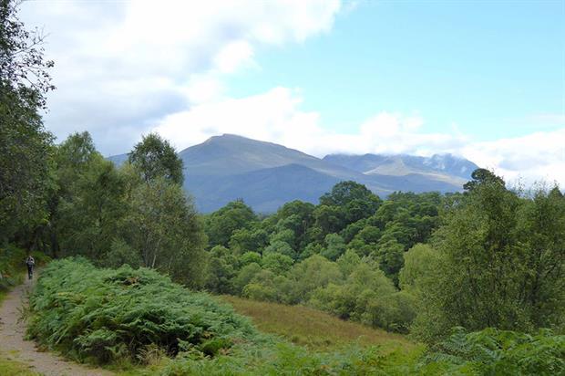 East Highlands near Ben Nevis range - image: Flickr/Andrew Bowden