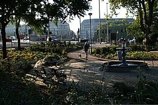The new-look St Mary's Garden - photo: HW