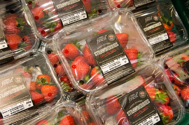 British-grown strawberries - image: HW
