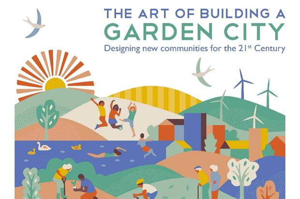 TCPA's new garden city book offers a fresh perspective on an old idea. Image: RIBA Publishing