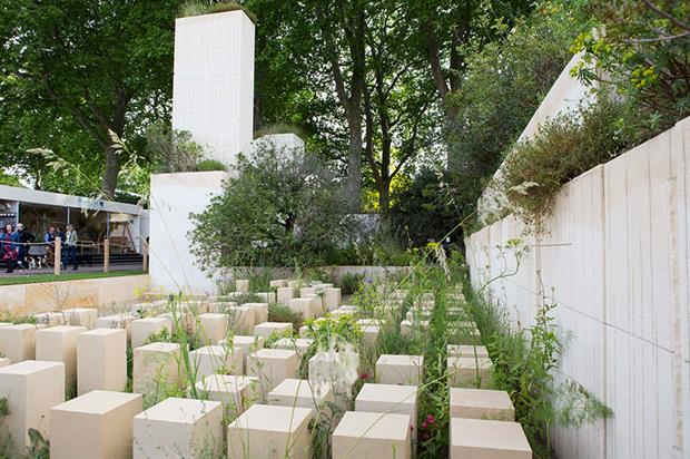 The M&G Garden by James Basson - image: HW