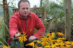 BBC Gardeners' World presenter, Tony Buckland - photo: BBC