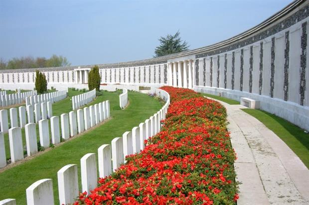Tyne Cot Cemetery in Belgium is the commission's largest. Image: Commonwealth War Graves Commission