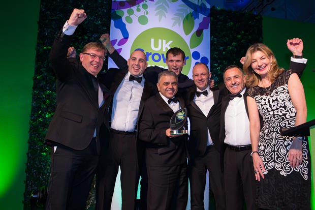 Valley Grown Salads among winners at UK Grower Awards 2017