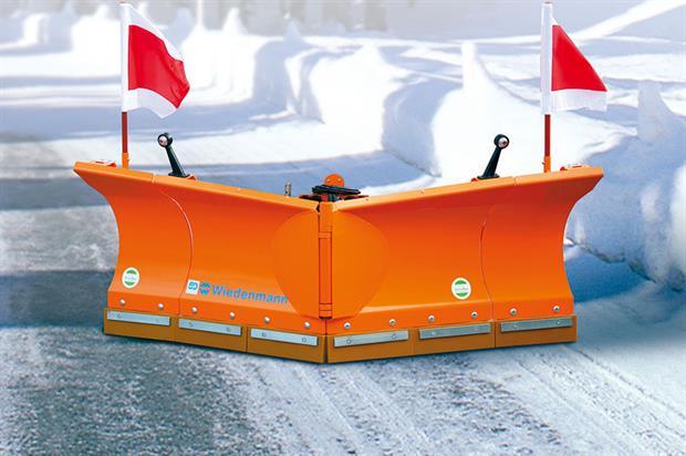 Wiedenmann: firm offers Vario Flex snow blade for heavy-duty winter operations - image: Wiedenmann