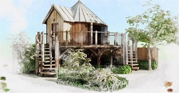 Treehouses To Feature At Rhs Chelsea Flower Show Horticulture Week