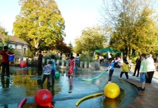 One of the projects mentioned in the report: Inwood Park Water Play Area by Shackell Associates