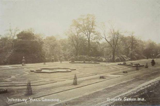 WNH Fountain Gardens: image: Mullineux Photographic Collection at-Chetham's Library, Manchester