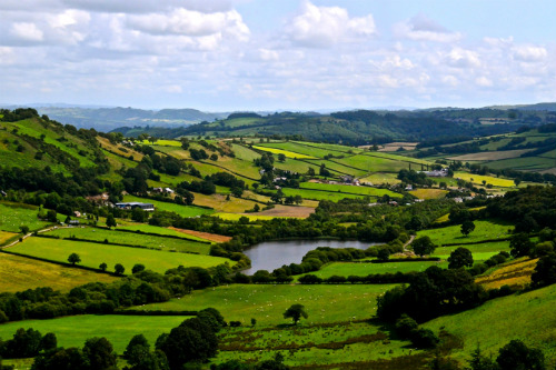 The Welsh countryside - image:William Franklin