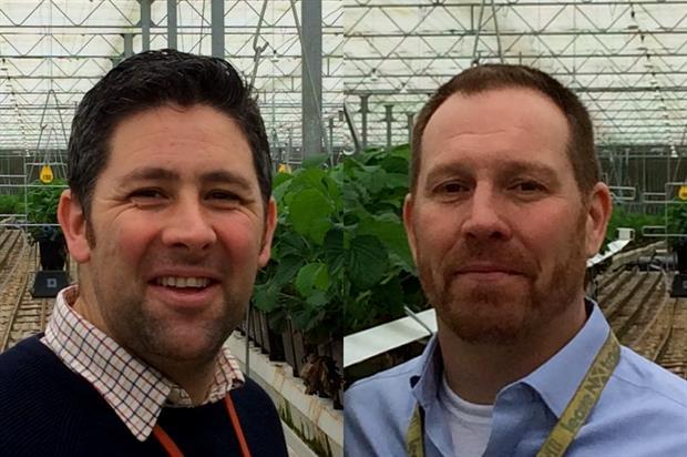 Warren (left) and Taylor - image: Agrovista