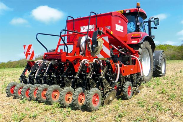 GD Drill: new zero-tillage machine features a disc coulter design that will satisfy all drilling systems